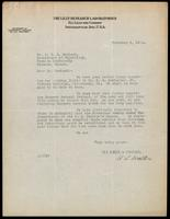 Letter to Dr. Macleod 3/02/1923
