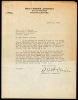 Letter to Dr. Macleod 10/03/1923