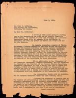 Letter to Dr. Fred S. LeClercq 1/06/1923