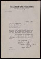 Letter to Dr. Fitzgerald 11/07/1923