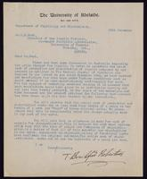 Letter to C. H. Best 28/12/[1923]