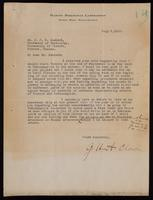 Letter to Dr. Macleod 8/07/1922