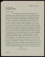 Letter to Mr. Eli Lilly 5/12/1922