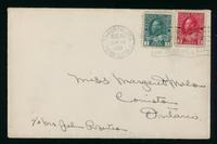 Letter to Margaret Mahon 15/8/1921