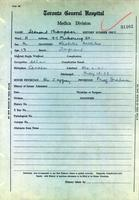 Patient records for Leonard Thompson