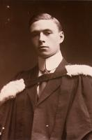 Graduation photograph of J. B. Collip 1912