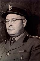 Photograph of J. B. Collip in uniform ca. 1942