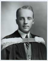 Graduation photograph of Charles Best 1921