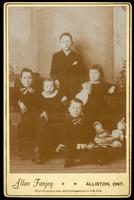 Photograph of the children of William and Margaret Banting ca. 1893