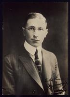 Photograph of F. G. Banting 27/12/1922