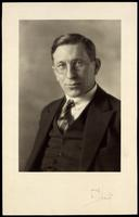 Photograph of F. G. Banting 1923
