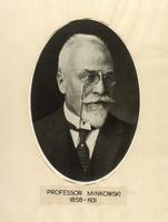 Photograph of Professor Minkowski