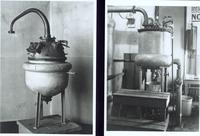Photographs of insulin stills ca. 1923