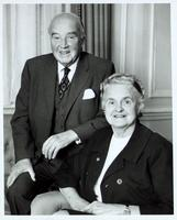 Photograph of C. H. Best and Margaret Best 16/12/1971
