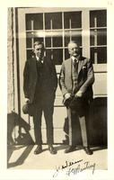 Photograph of F. G. Banting and John R. Williams ca. 1923