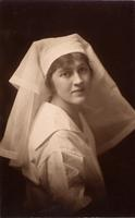 Photograph of Marion Robertson in nurse's uniform