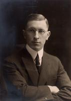 Photograph of F. G. Banting as a young man
