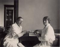Photograph of F. G. Banting and Sadie Gairns ca. 1930