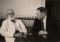 Photograph of F. G. Banting and I. P. Pavlov