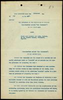 Foreign export license: agreement between the Governors of the University of Toronto and Evans Sons Lescher & Webb