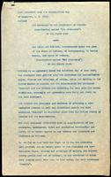 Foreign export license: agreement between the Governors of the University of Toronto and Eli Lilly and company 31/12/1923