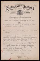 Denmark patent No. 34874