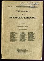 The journal of metabolic research
