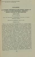 Glucokinin [third paper]