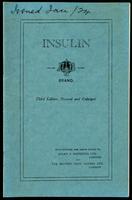 Insulin: A. B. Brand