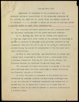Memorandum in reference to the co-operation of the Connaught Antitoxin Laboratories in the researches conducted by Dr. Banting, Mr. Best and Dr. Collip under the general direction of Professor J. J. R. Macleod to obtain an extract of pancreas ...