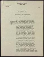 Memorandum on the organization of the diabetic clinic
