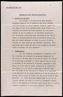 First draft of the objectives of the Banting and Best research foundation 27/11/2912