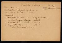 Connaught anti-toxin laboratories: Early filling records for insulin 29/04/1922 to 15/05/1922