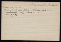 Connaught Anti-Toxin Laboratories:  Filling records for Dr. Macleod's insulin 13/10/1922 - 19/06/1923