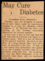 University of Toronto. Board of Governors. Insulin Committee